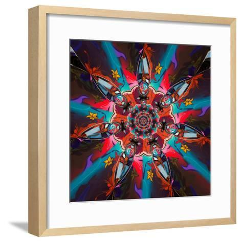 Variations On A Circle 49-Philippe Sainte-Laudy-Framed Art Print
