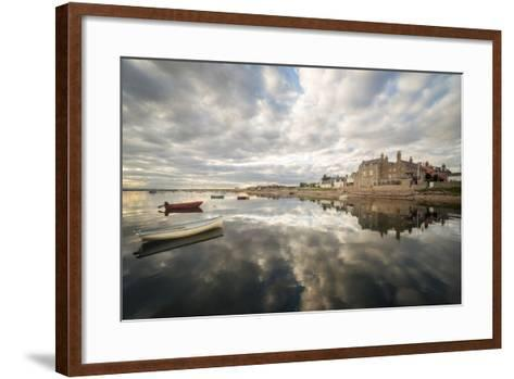 Reflection On The Sea-Philippe Manguin-Framed Art Print