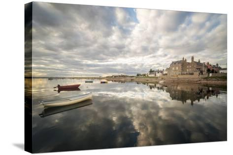 Reflection On The Sea-Philippe Manguin-Stretched Canvas Print