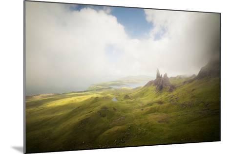 Isle Of Skye Old Man Of Storr In Scotland-Philippe Manguin-Mounted Photographic Print