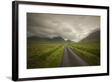 The Road To Highlands-Philippe Manguin-Framed Art Print