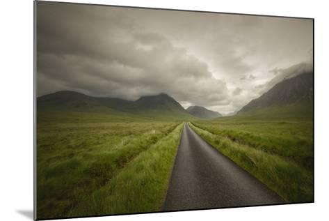 The Road To Highlands-Philippe Manguin-Mounted Photographic Print