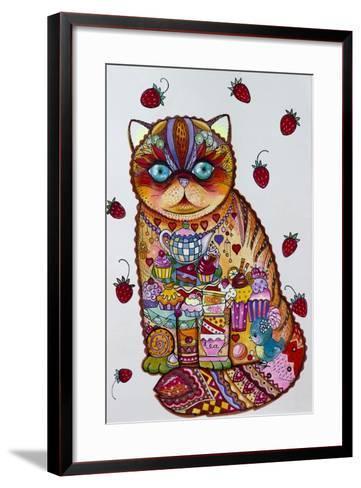 Tea And Cupcakes 3-Oxana Zaika-Framed Art Print