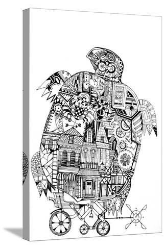 Turtle 1-Oxana Zaika-Stretched Canvas Print