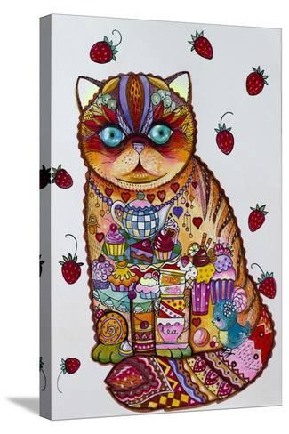 Tea And Cupcakes 3-Oxana Zaika-Stretched Canvas Print