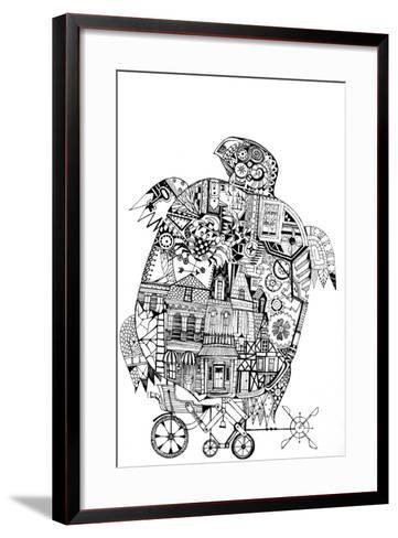 Turtle 1-Oxana Zaika-Framed Art Print