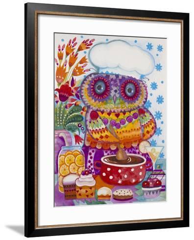 Chocolate Mousse-Oxana Zaika-Framed Art Print