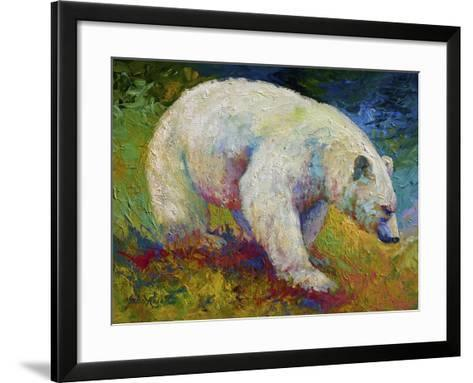 Creamy Vanilla-Marion Rose-Framed Art Print