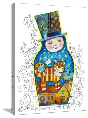 Russian Doll-Oxana Zaika-Stretched Canvas Print