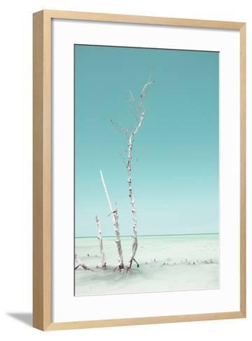 Cuba Fuerte Collection - Ocean Nature - Pastel Aquamarine-Philippe Hugonnard-Framed Art Print