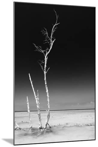Cuba Fuerte Collection B&W - Alone in the Ocean IV-Philippe Hugonnard-Mounted Photographic Print