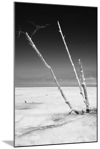 Cuba Fuerte Collection B&W - Alone in the Ocean-Philippe Hugonnard-Mounted Photographic Print