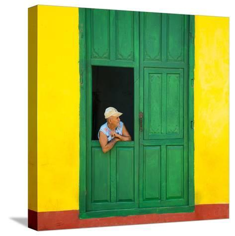 Cuba Fuerte Collection SQ - Cuban Looks-Philippe Hugonnard-Stretched Canvas Print