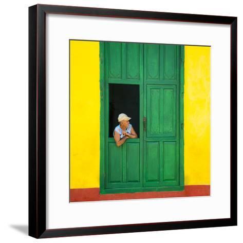 Cuba Fuerte Collection SQ - Cuban Looks-Philippe Hugonnard-Framed Art Print