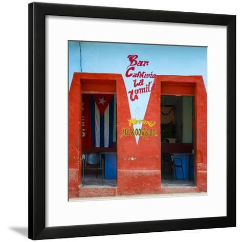 Cuba Fuerte Collection SQ - Cafeteria-Philippe Hugonnard-Framed Art Print