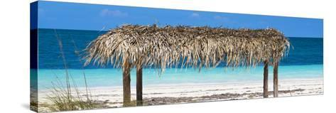 Cuba Fuerte Collection Panoramic - Paradise Beach-Philippe Hugonnard-Stretched Canvas Print