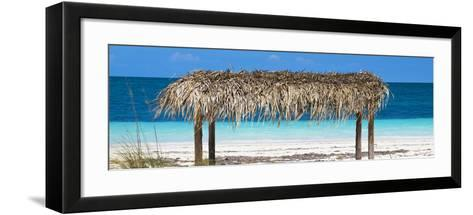 Cuba Fuerte Collection Panoramic - Paradise Beach-Philippe Hugonnard-Framed Art Print