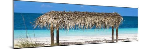 Cuba Fuerte Collection Panoramic - Paradise Beach-Philippe Hugonnard-Mounted Photographic Print