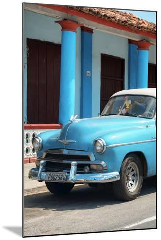 Cuba Fuerte Collection - Cuban Turquoise Car II-Philippe Hugonnard-Mounted Photographic Print