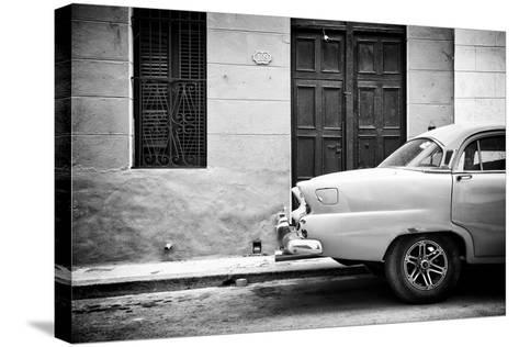 Cuba Fuerte Collection B&W - 109 Street Havana-Philippe Hugonnard-Stretched Canvas Print