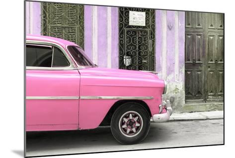 Cuba Fuerte Collection - Havana Pink Car-Philippe Hugonnard-Mounted Photographic Print