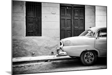Cuba Fuerte Collection B&W - 109 Street Havana-Philippe Hugonnard-Mounted Photographic Print