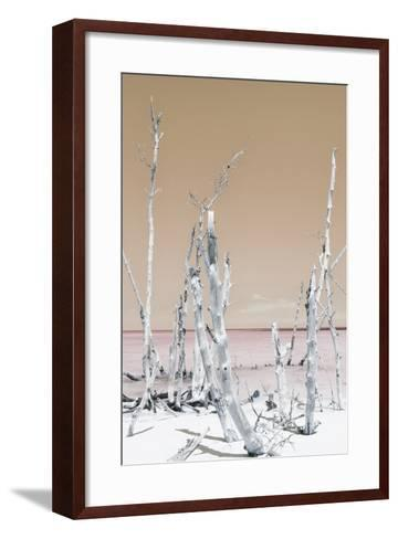 Cuba Fuerte Collection - Ocean Wild Nature II - Pastel Orange-Philippe Hugonnard-Framed Art Print
