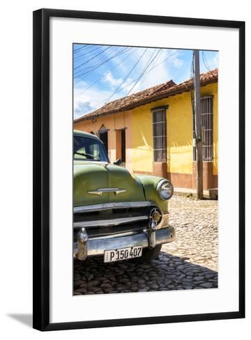 Cuba Fuerte Collection - Cuban Chevy III-Philippe Hugonnard-Framed Art Print