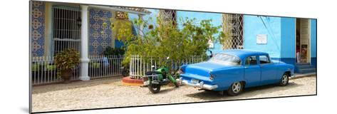Cuba Fuerte Collection Panoramic - Blue Trinidad-Philippe Hugonnard-Mounted Photographic Print