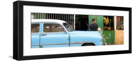 Cuba Fuerte Collection Panoramic - Street Scene-Philippe Hugonnard-Framed Art Print