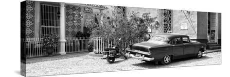 Cuba Fuerte Collection Panoramic - Trinidad Street Scene-Philippe Hugonnard-Stretched Canvas Print