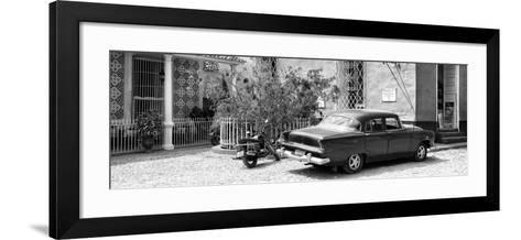 Cuba Fuerte Collection Panoramic - Trinidad Street Scene-Philippe Hugonnard-Framed Art Print