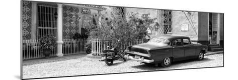Cuba Fuerte Collection Panoramic - Trinidad Street Scene-Philippe Hugonnard-Mounted Photographic Print