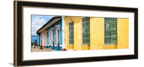 Cuba Fuerte Collection Panoramic - Colorful Street Scene-Philippe Hugonnard-Framed Art Print