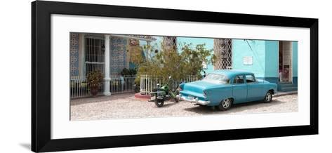 Cuba Fuerte Collection Panoramic - Turquoise Trinidad-Philippe Hugonnard-Framed Art Print