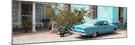 Cuba Fuerte Collection Panoramic - Turquoise Trinidad-Philippe Hugonnard-Mounted Photographic Print