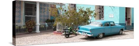 Cuba Fuerte Collection Panoramic - Turquoise Trinidad-Philippe Hugonnard-Stretched Canvas Print