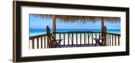 Cuba Fuerte Collection Panoramic - Paradise Beach Hut-Philippe Hugonnard-Framed Art Print