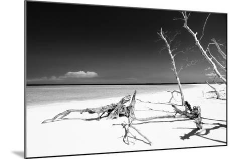 Cuba Fuerte Collection B&W - White Beach-Philippe Hugonnard-Mounted Photographic Print