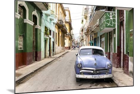 Cuba Fuerte Collection - Street Scene in Havana-Philippe Hugonnard-Mounted Photographic Print