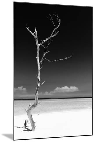 Cuba Fuerte Collection B&W - White Beach II-Philippe Hugonnard-Mounted Photographic Print