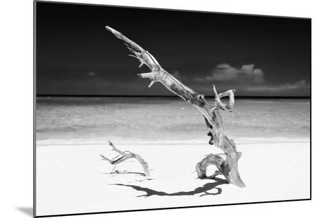 Cuba Fuerte Collection B&W - White Beach III-Philippe Hugonnard-Mounted Photographic Print