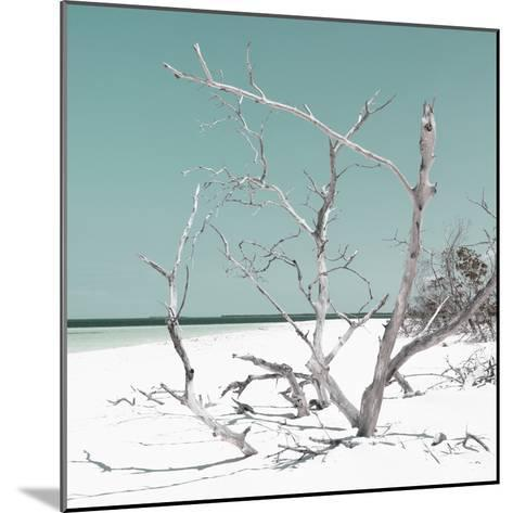 Cuba Fuerte Collection SQ - Tropical Beach Nature - Pastel Coral Green-Philippe Hugonnard-Mounted Photographic Print