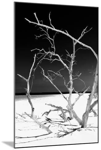 Cuba Fuerte Collection B&W - White Beach V-Philippe Hugonnard-Mounted Photographic Print