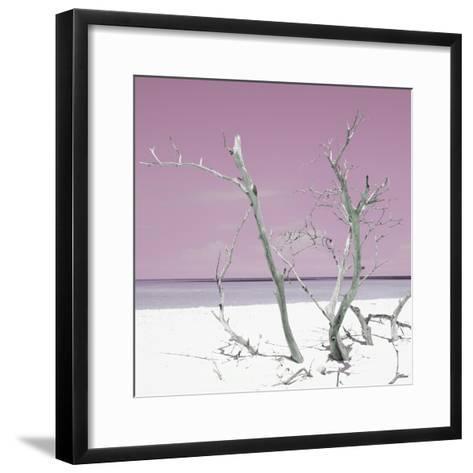 Cuba Fuerte Collection SQ - Pink Stillness-Philippe Hugonnard-Framed Art Print