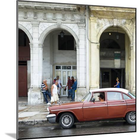 Cuba Fuerte Collection SQ - Havana Street Scene-Philippe Hugonnard-Mounted Photographic Print