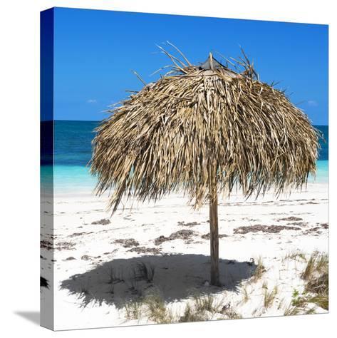 Cuba Fuerte Collection SQ - Wild Umbrella-Philippe Hugonnard-Stretched Canvas Print
