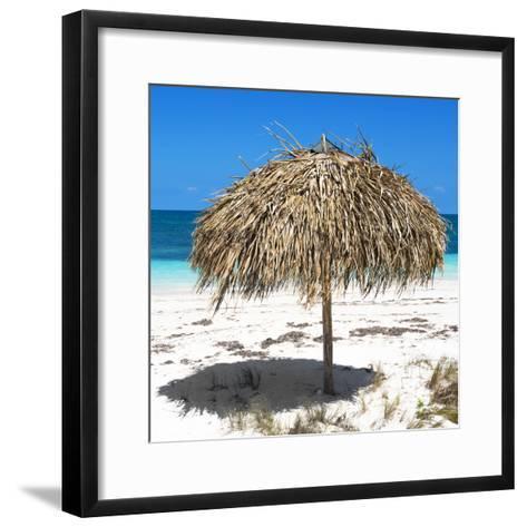 Cuba Fuerte Collection SQ - Wild Umbrella-Philippe Hugonnard-Framed Art Print
