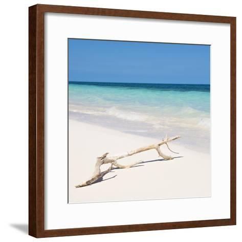 Cuba Fuerte Collection SQ - Natural Wild Beach-Philippe Hugonnard-Framed Art Print
