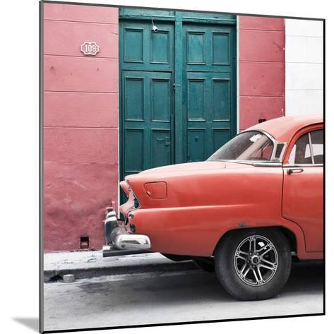 Cuba Fuerte Collection SQ - Havana 109 Street Orange-Philippe Hugonnard-Mounted Photographic Print